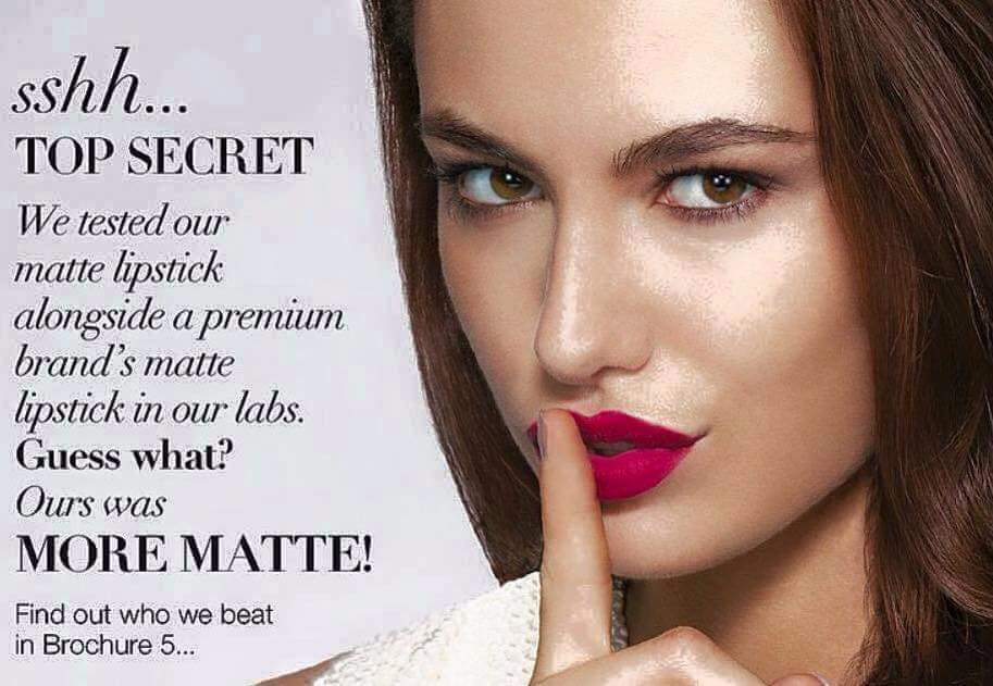 AVON- New Perfectly matte lipstick, my review!