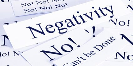 A look at the concept of negativity, can't be done, impossible, no.
